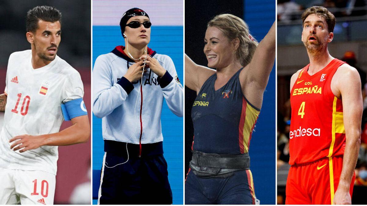 España acude a Tokio con una delegación de estrellas: Pau Gasol, Mireia Belmonte o Lydia Valentín