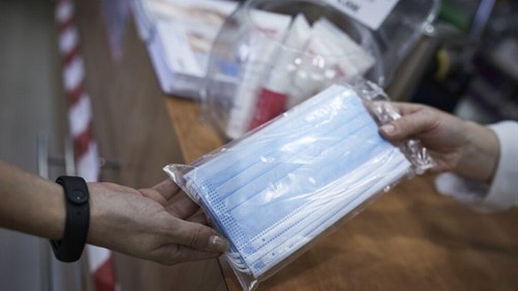 La venta de mascarillas fabricadas en España alcanzó los 293 millones en 2020, año en el que irrumpió la pandemia