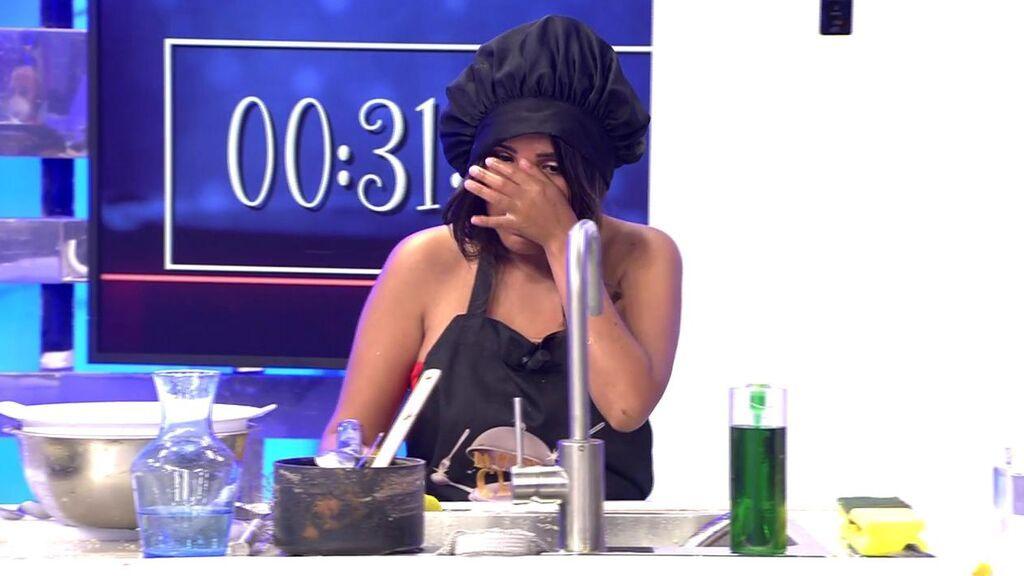 """Isa Pantoja se rompe ante las preguntas sobre su madre: """"Esta vez no le he hecho nada"""""""