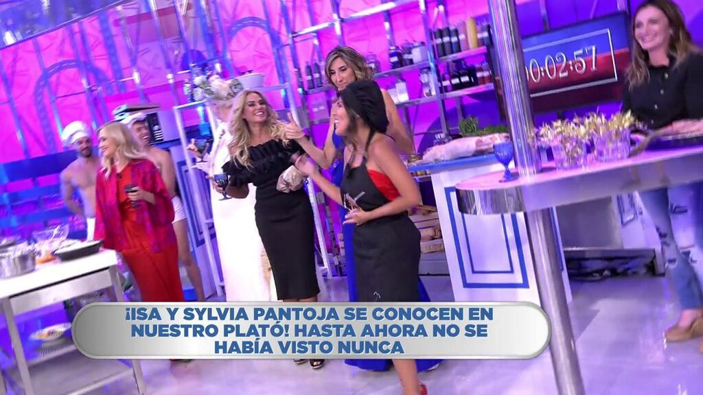 La canción de Sylvia e Isa Pantoja