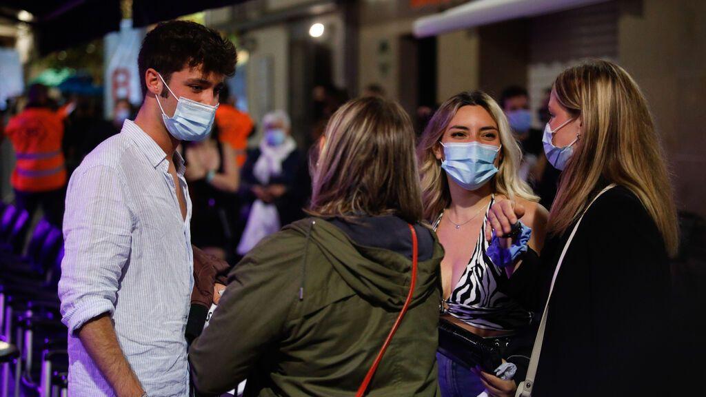 La mayoría de los hospitalizados en Andalucía son jóvenes de entre 16 y 29 años
