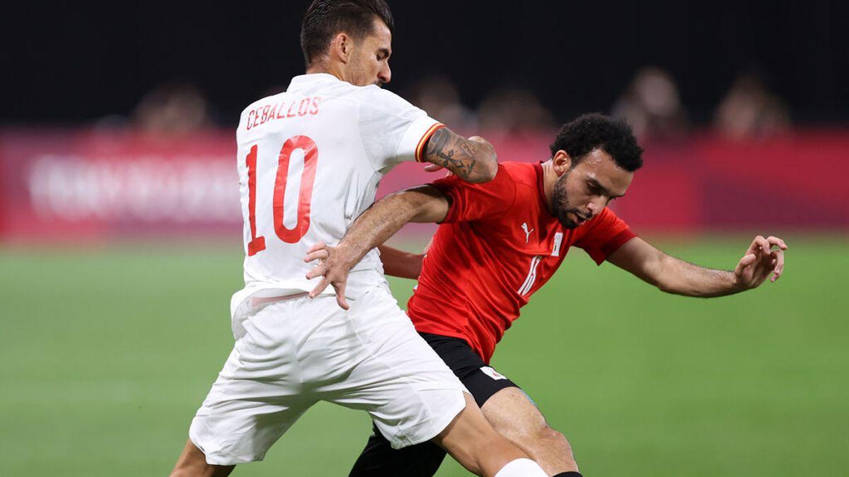La selección española de fútbol debuta en Tokio 2020 con empate a cero ante Egipto y dos lesionados