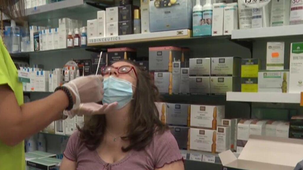 Ya no quedan test en las farmacias