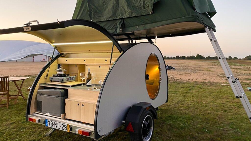 Cocoon, la minicaravana más económica y otras formas de viajar con la casa a cuestas