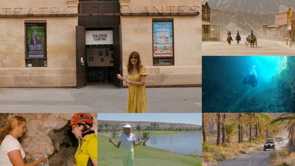 Escenarios de cine, playas vírgenes y pueblos de ensueño: Isabel Jiménez y Mar Segura guían a 'Viajeros Cuatro' por Almería