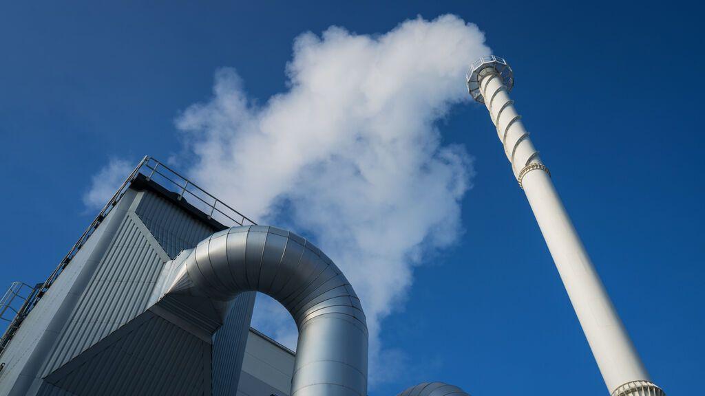 Central eléctrica de Cogeneración biomasa