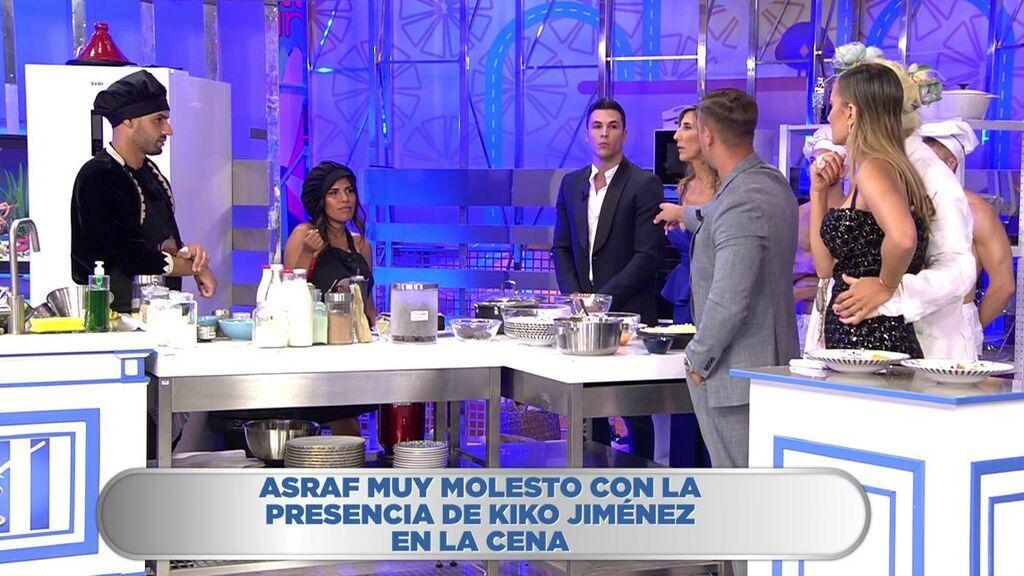 """Asraf se enfrenta a Kiko Jiménez: """"Es de ser traicionero y bajuno"""""""