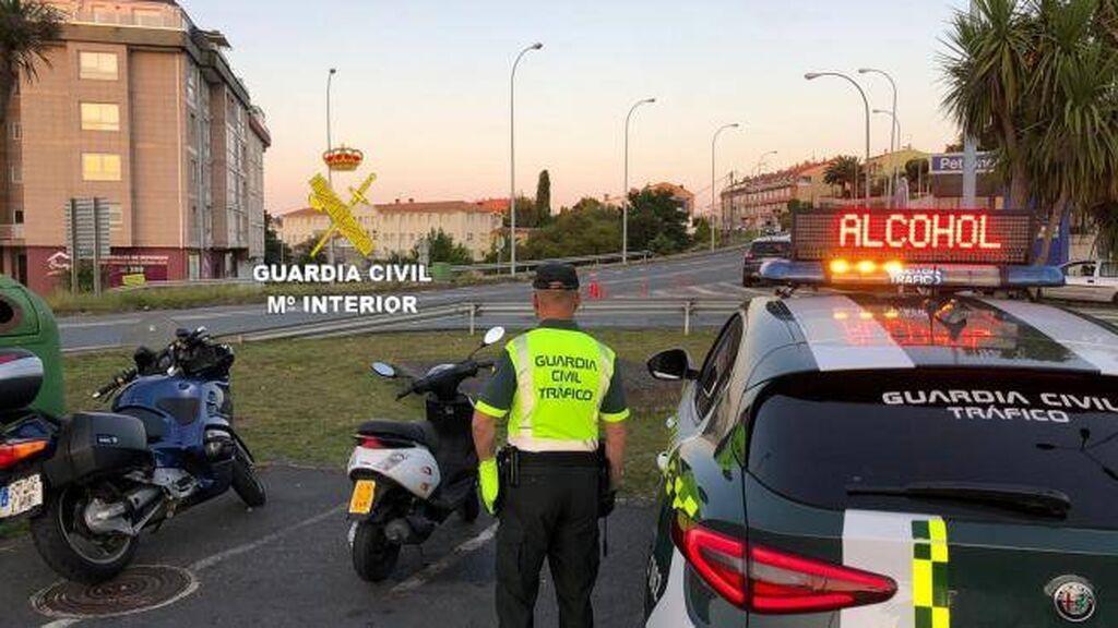 La Dirección General de Tráfico incrementa la vigilancia en carreteras frecuentadas por motoristas este fin de semana