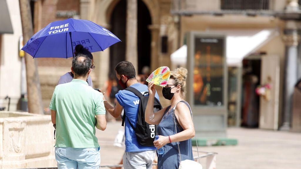 Más calor el fin de semana en Andalucía: Se espera terral en Málaga y 42 grados en Almería