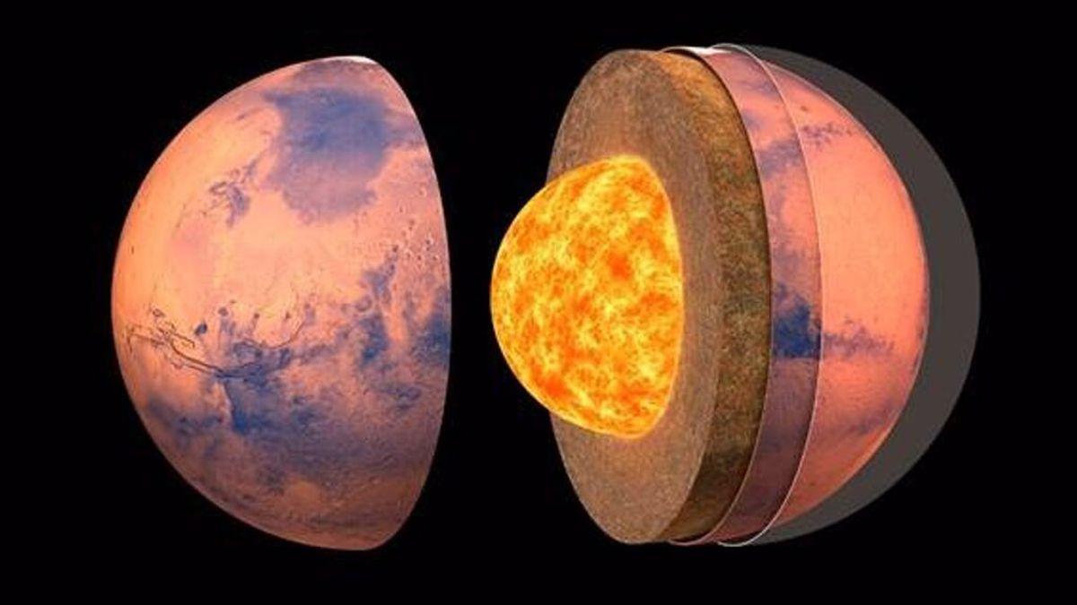 Los martemotos confirman al Insight de la Nasa que Marte tiene un núcleo líquido y metálico