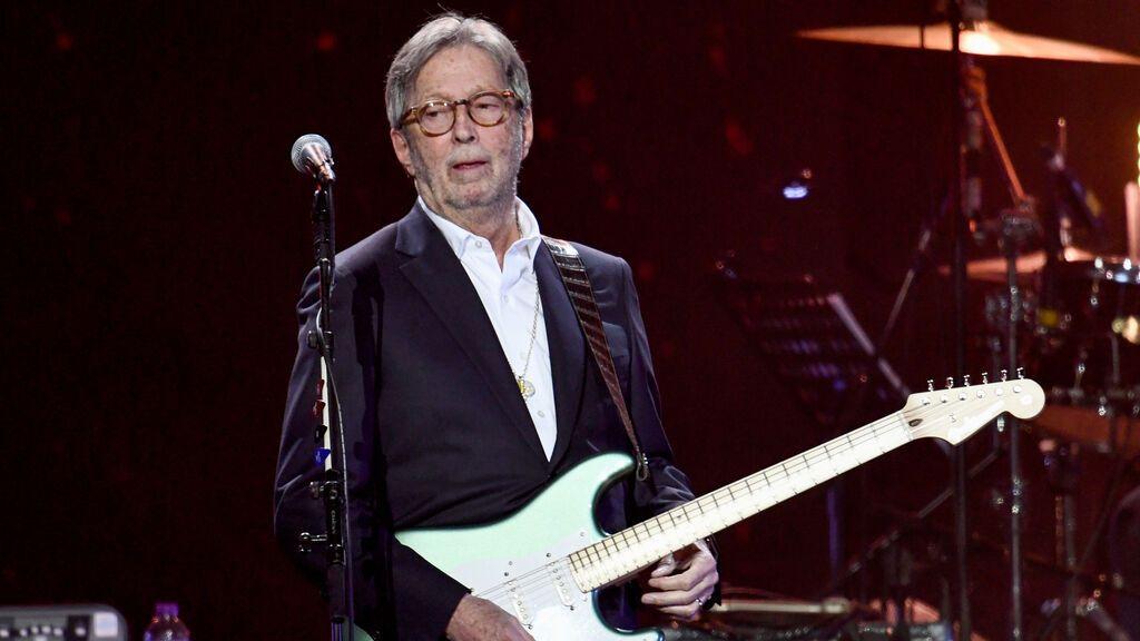 Eric Clapton se niega a tocar en recintos que exijan la vacuna de covid al público