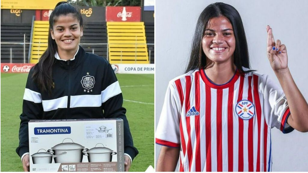 Machista, y de mal gusto: una jugadora paraguaya, premiada con un set de ollas tras ser MVP del partido