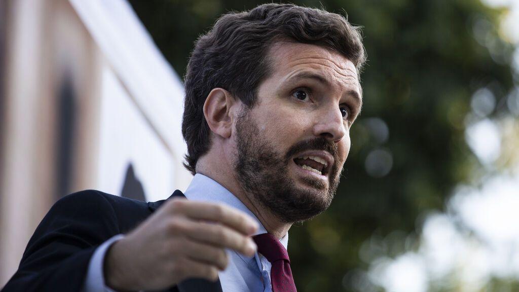 """Casado tacha de """"bochornosa"""" la gira de Sánchez en EE.UU.: """"Yo jamás habría aceptado"""""""