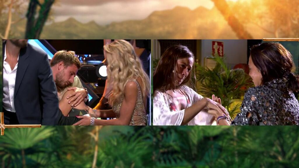 Tom abraza  ala madre de Melyssa