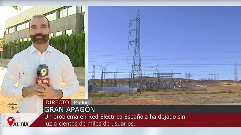 Una avería eléctrica deja sin luz a cientos de miles de hogares en España