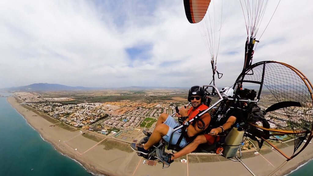 Las playas de Almería, desde el aire.