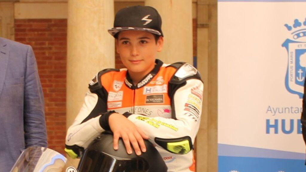 Muere a los 14 años el piloto Hugo Millán tras un grave accidente