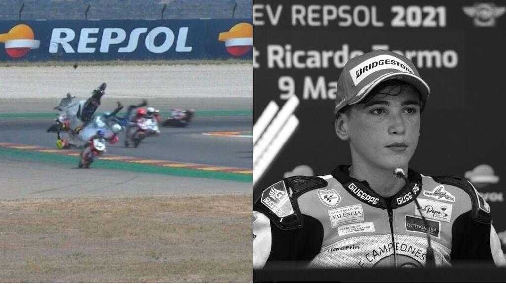 Fallece un joven piloto español de 14 años tras sufrir un grave accidente en la European Talent Cup