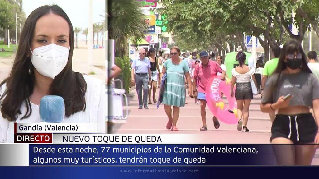 Gandía se une a las localidades de la Comunidad Valenciana con toque de queda nocturno