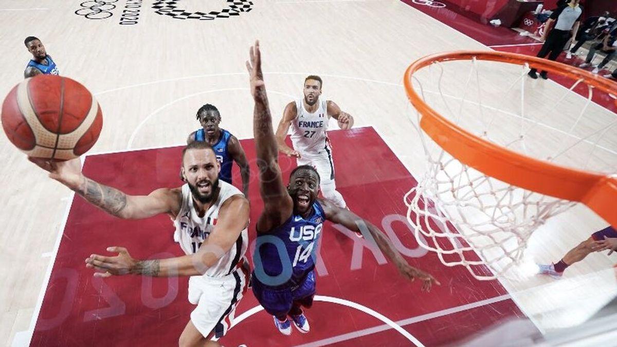 Francia acaba con la racha de victorias de Estados Unidos en los Juegos Olímpicos (83-76)