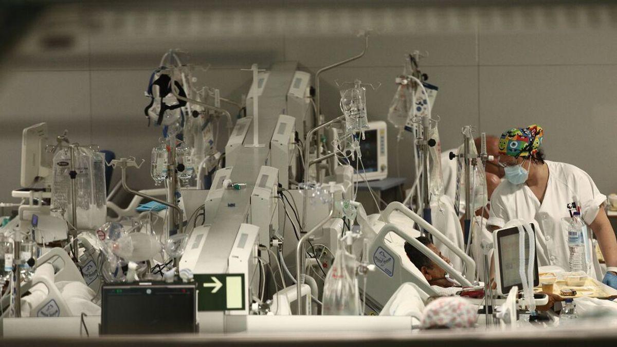 Madrid dobla el número de hospitalizados por covid en una semana