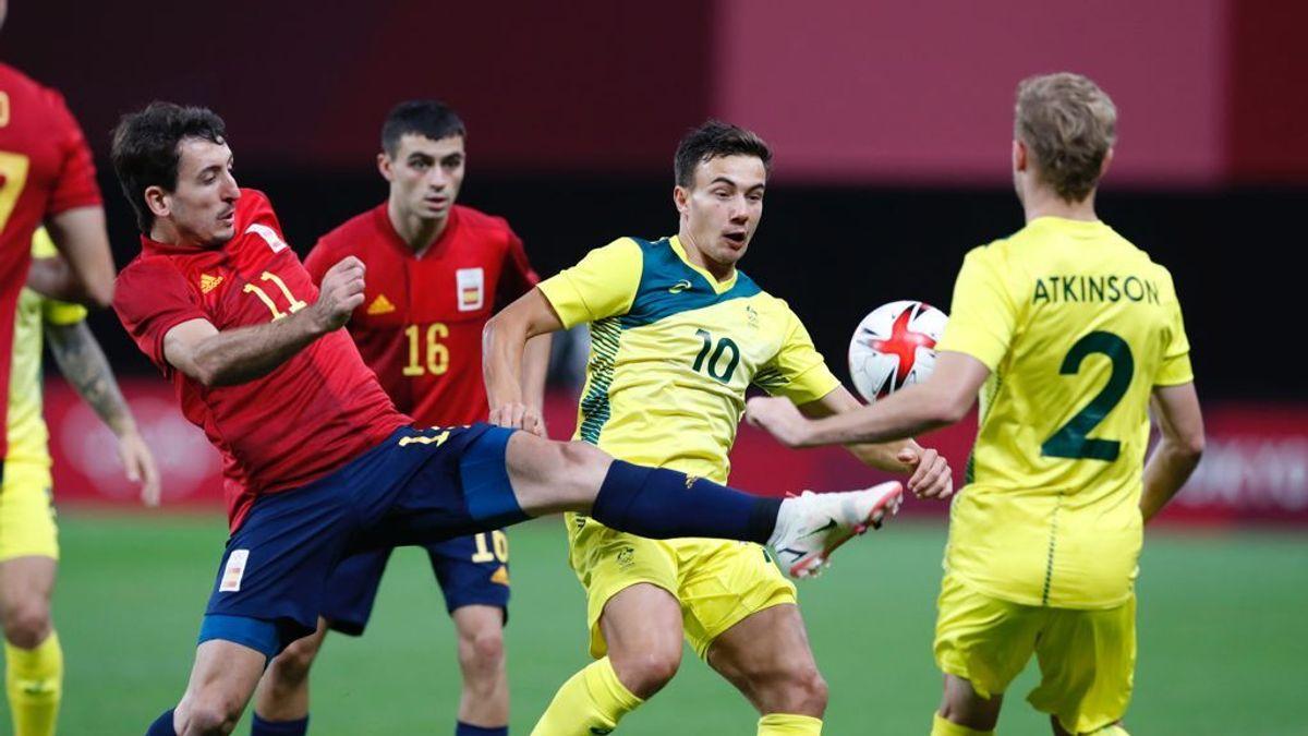 España no pasa del empate ante Australia y se complica la vida en los Juegos Olímpicos