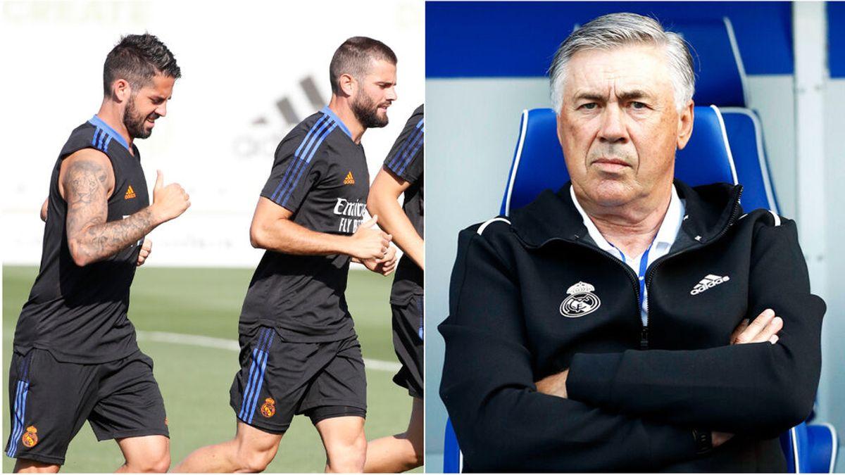 Isco y Nacho, los únicos supervivientes en el redebut de Ancelotti con el Madrid: las diferencias con su primera alineación en 2013