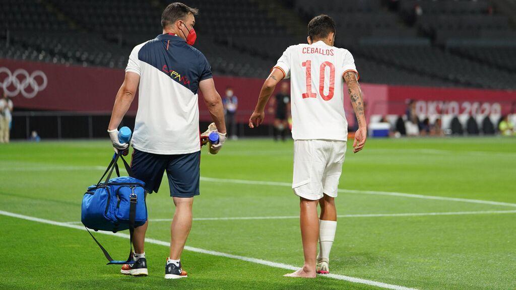 España no descarta a Ceballos y mantienen sus esperanzas para que pueda jugar: podría llegar a las semifinales si la Selección se clasifica