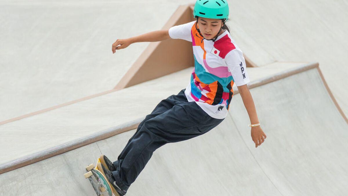 Momiji Nishiya, así es la niña de 13 años más joven en subir a un podio olímpico