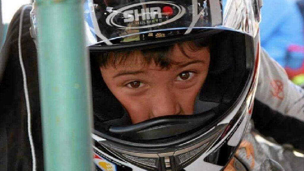 La madre de Hugo Millán, fallecido a los 14 años en accidente de moto, se despide de él