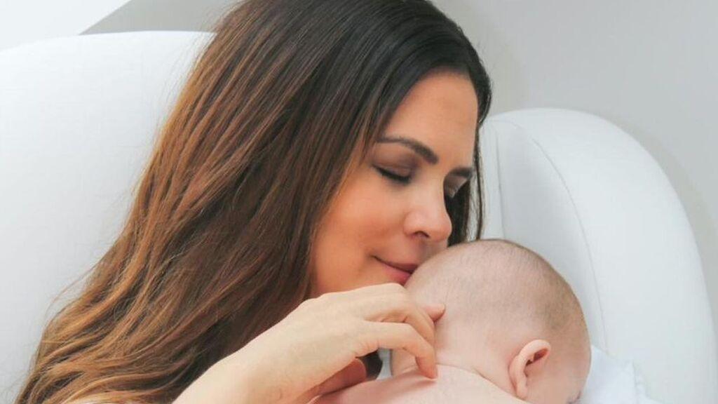 Romina Belluscio recupera su forma física haciendo deporte con su hijo recién nacido