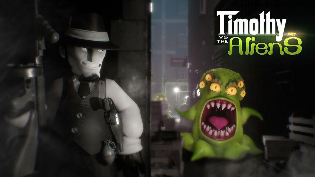 Timothy vs the Aliens, de los españoles Wild Sphere, llega a Steam y Nintendo Switch