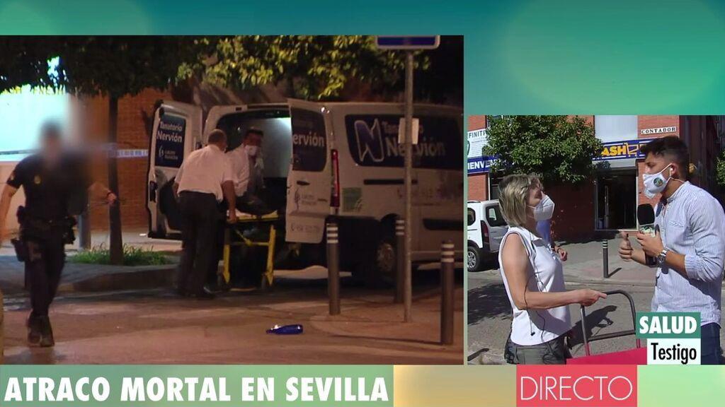 """Pánico en el barrio de Sevilla donde ha sido abatido un atracador: """"Últimamente hay mucha delincuencia a causa de la droga"""""""