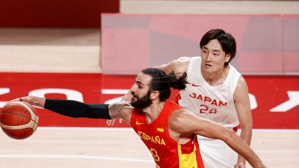 España se estrena en Tokio 2020 al son de Ricky Rubio: 77-88 para ganar fácil a Japón