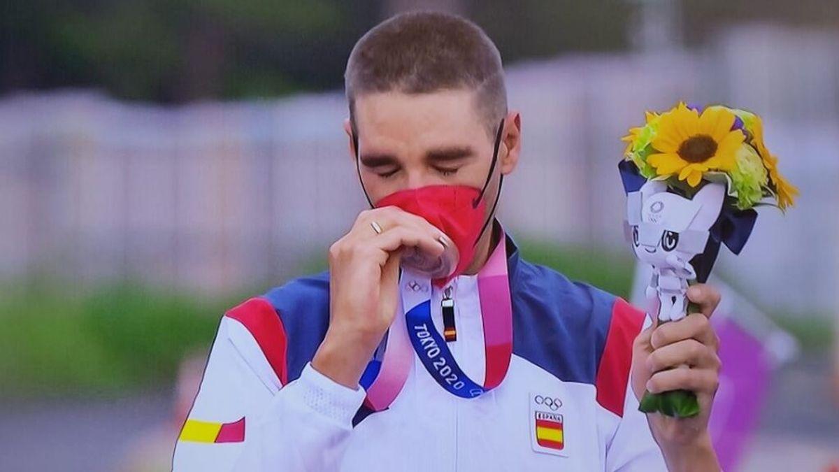 Segunda medalla para España en Tokio: David Valero bronce en mountain bike