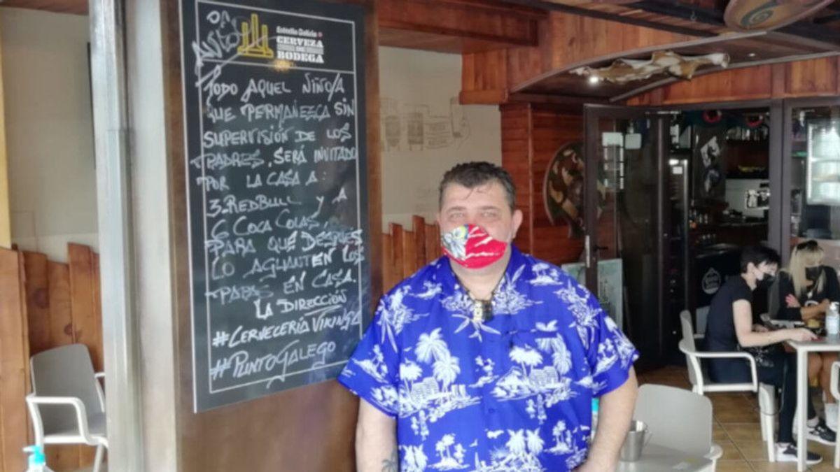 Un hostelero de Viveiro 'amenaza' con invitar a Coca-cola y Red Bull a los niños que molesten