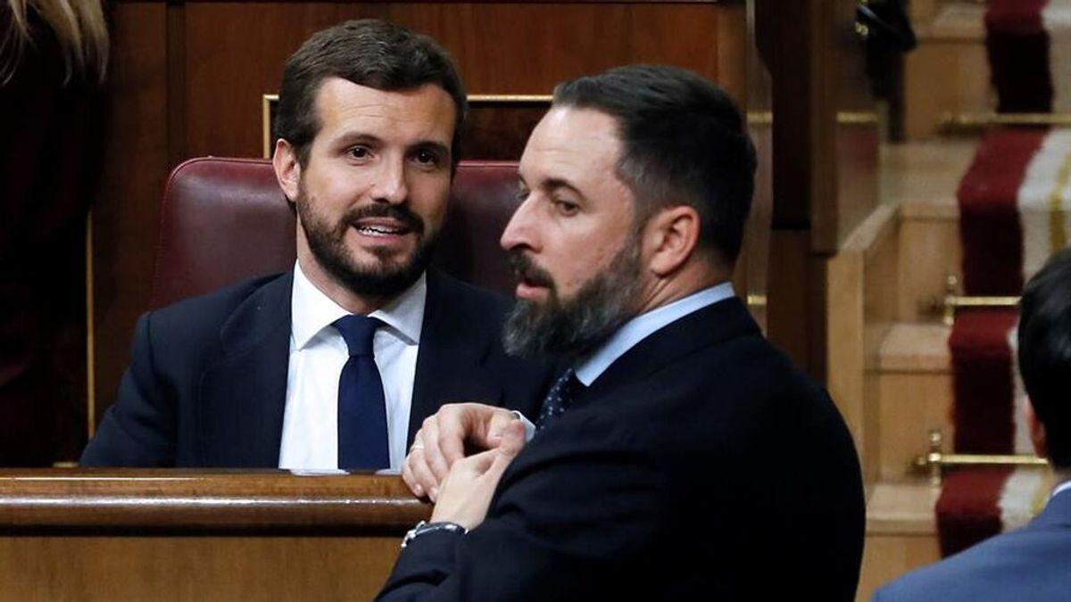 Vox desprecia el rechazo del PP a la reprobación de Abascal en Ceuta y da por rotas las relaciones