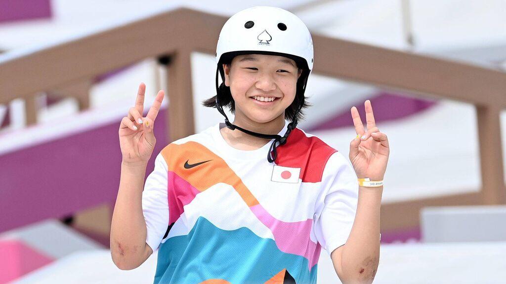 Momiji Nishiya, una niña skater de 13 años, consigue el Oro más joven de la historia de los Juegos Olímpicos