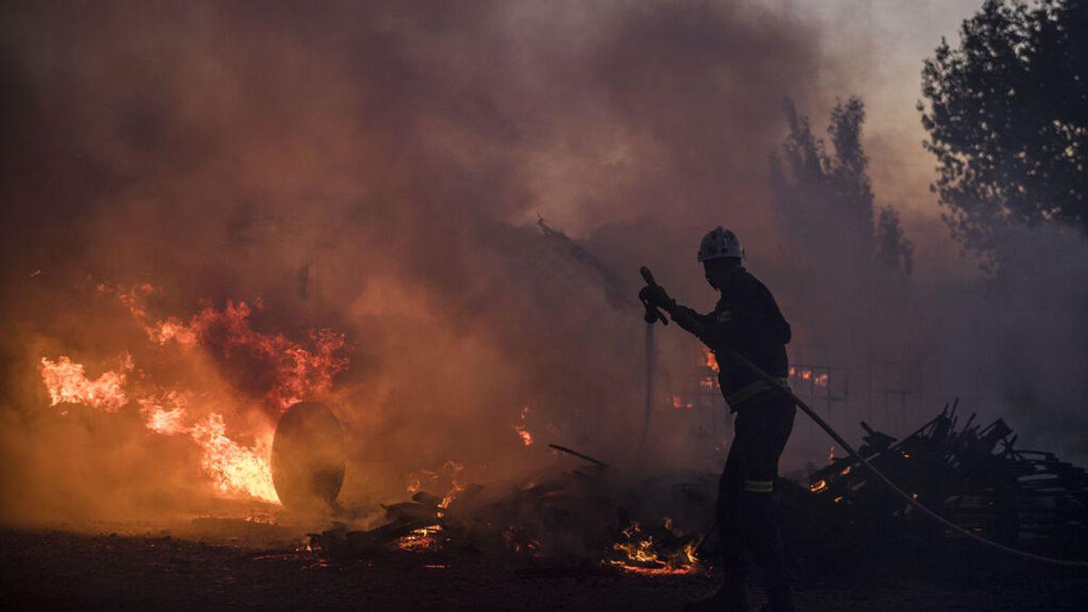 Los incendios forestales aumentan un 24,5 % hasta julio respecto a 2020