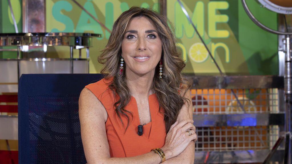 Mediaset España renueva su contrato de larga duración con Paz Padilla