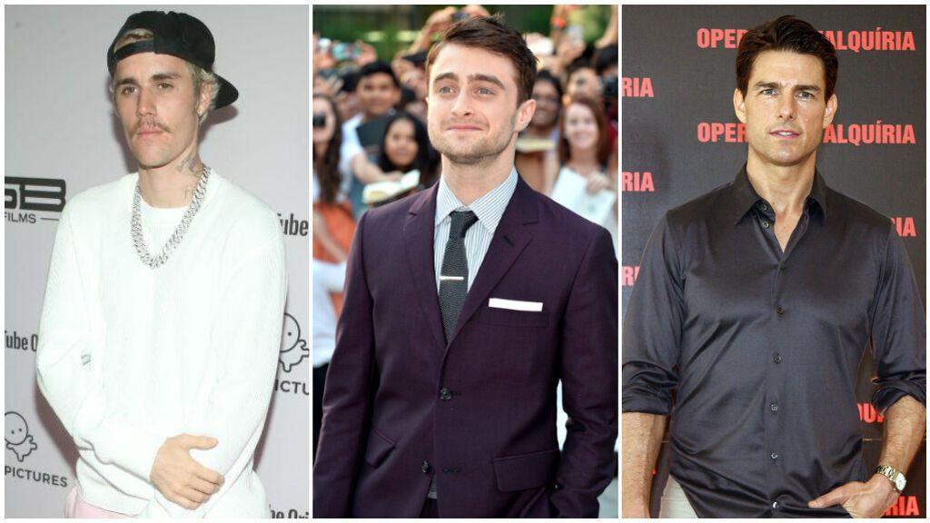 Famosos que son bajitos y que no te imaginabas: de Justin Bieber a Daniel Radcliffe y Tom Cruise.