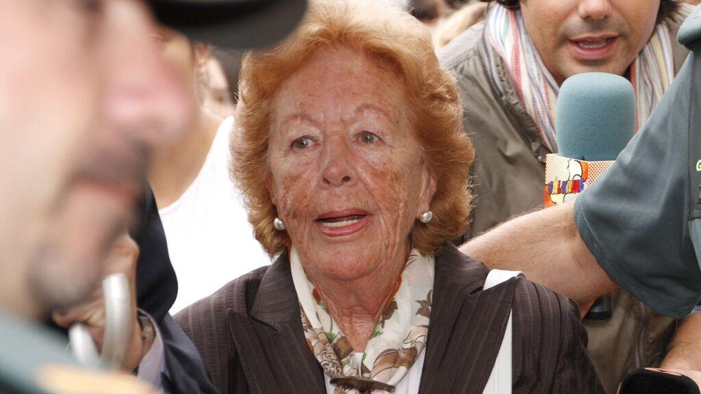 """Del """"Sigo fumando"""" a """"Felipe es un padrazo"""": las frases más icónicas de Menchu Álvarez del Valle, la abuela de Letizia, fallecida a los 93 años"""