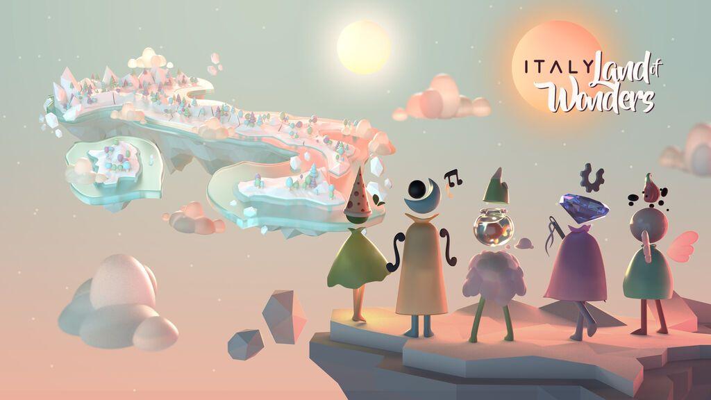 ITALY. Land of Wonders: un videojuego móvil para conocer Italia este verano