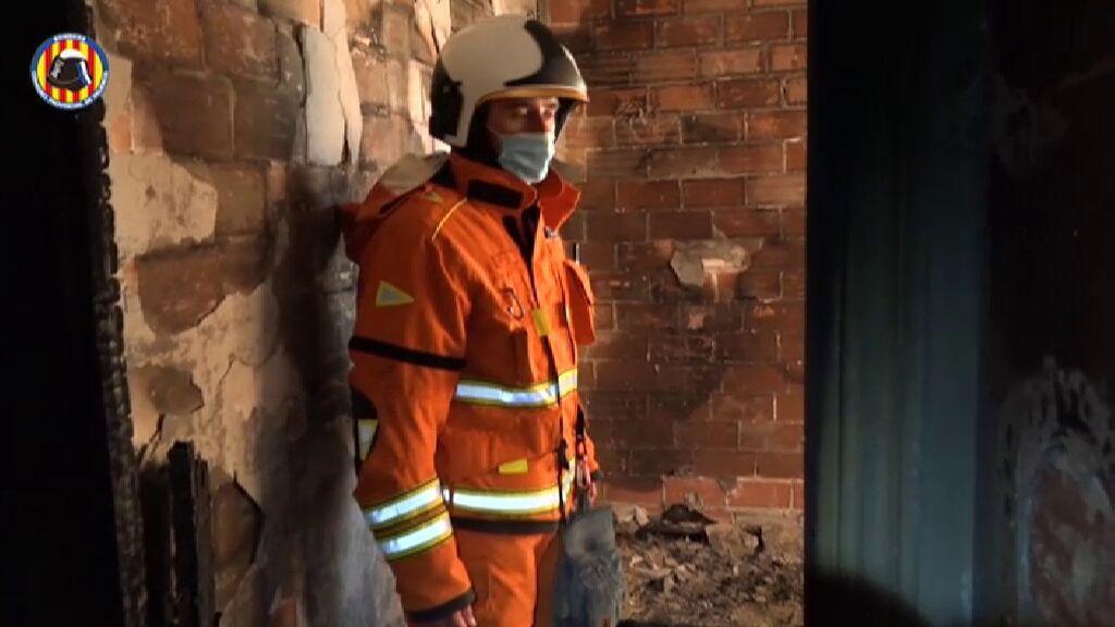 Muere un niño de seis años en el incendio de su vivienda en Alberic