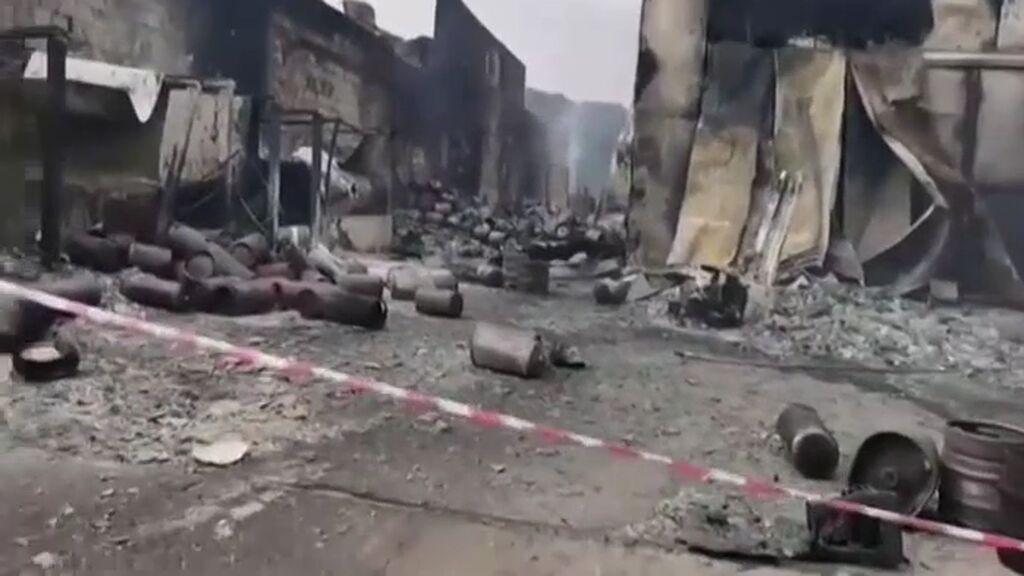 Arde Cerdeña: Italia pide ayuda para sofocar los incendios en la isla