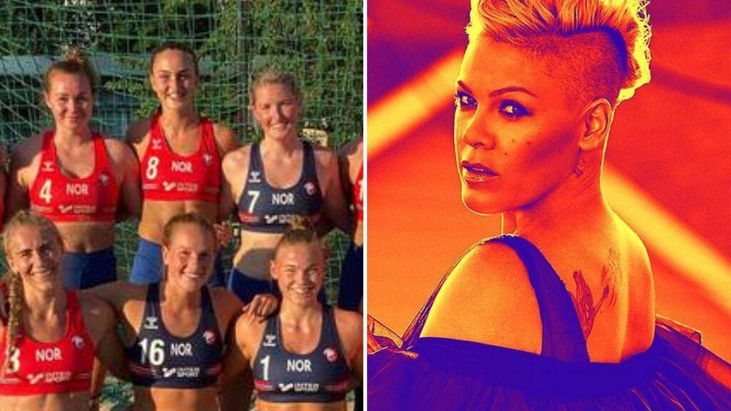 La cantante Pink quiere pagar la multa del equipo noruego de balonmano, que no quiso competir en bikini