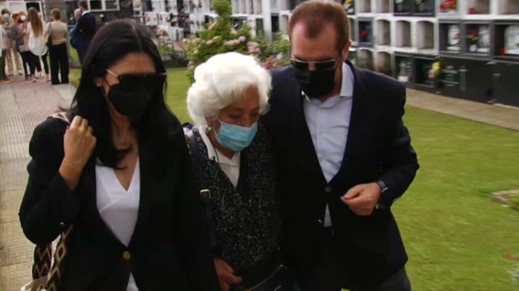 Letizia, ausente en el entierro de su abuela paterna