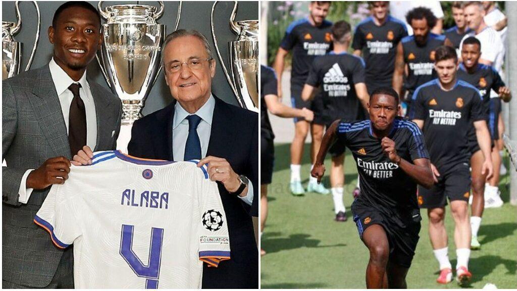 El Real Madrid comunica que David Alaba ha dado positivo en Covid