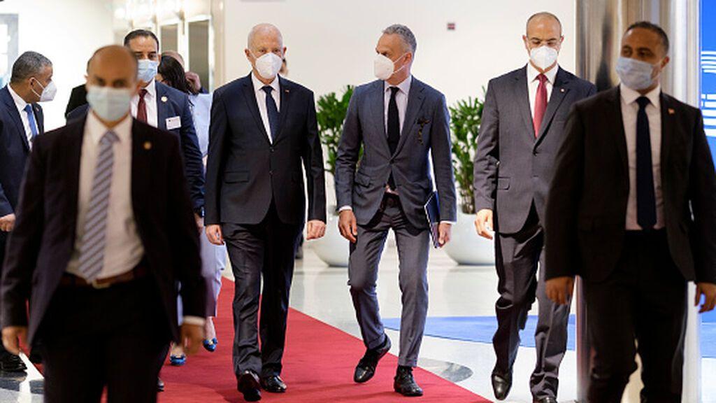 El presidente Saied, cada vez más fuerte tras arrogarse todo el poder en Túnez