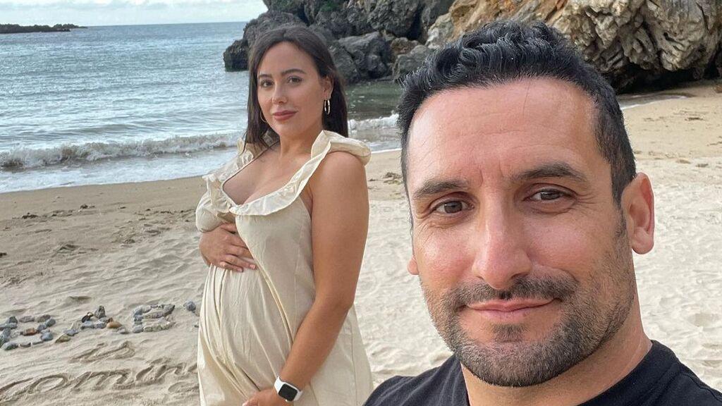 """Ivanna, la hermana de Georgina Rodríguez, está embarazada del escultor de Cristiano Ronaldo: """"Te estamos esperando"""""""